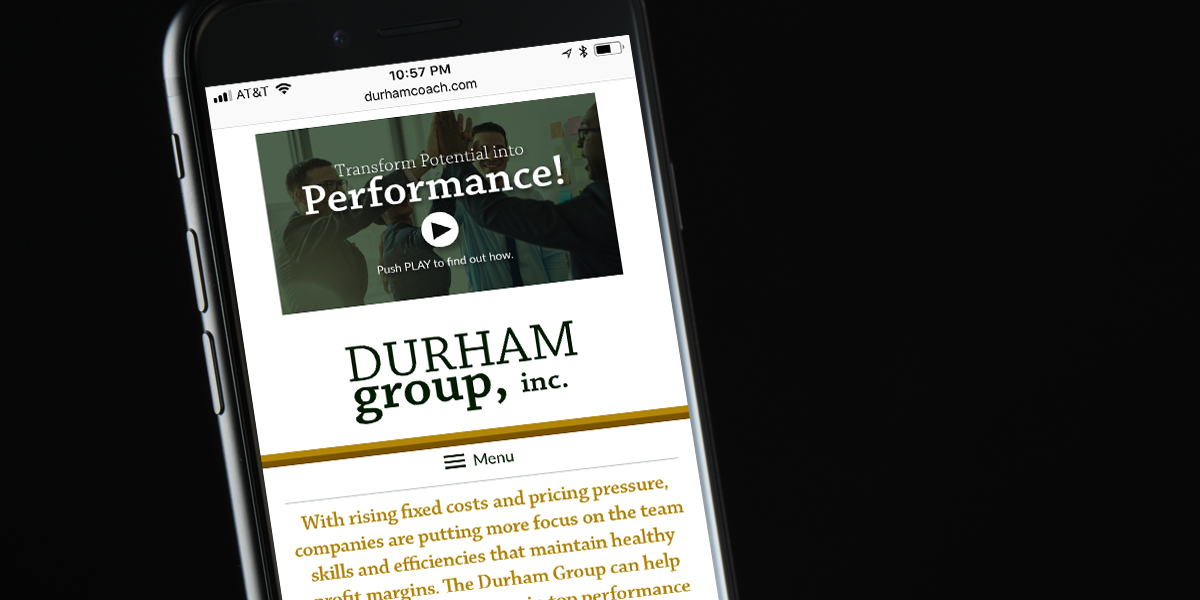 Responsive Website for Durham Group, Inc.