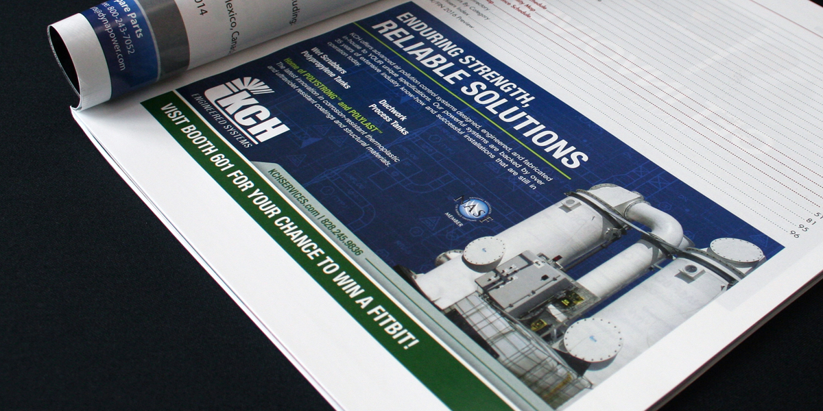 Print ad for KCH Engineered Services